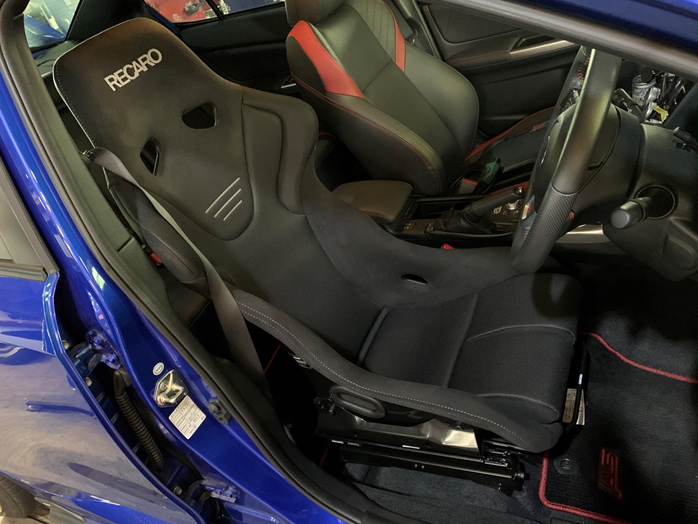 RECARO RS-G GK [BLACK/BLACK] FOR VAB